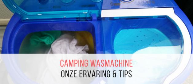 Camping wasmachine met centrifuge: onze ervaring met de Mestic MWD-380