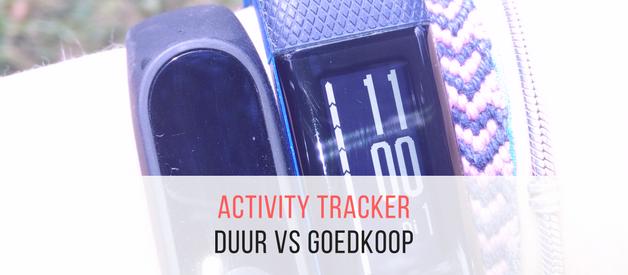 Dure vs goedkope activity tracker (oftewel Garmin Vivosmart HR+ vs Xiaomi Mi Band 2)