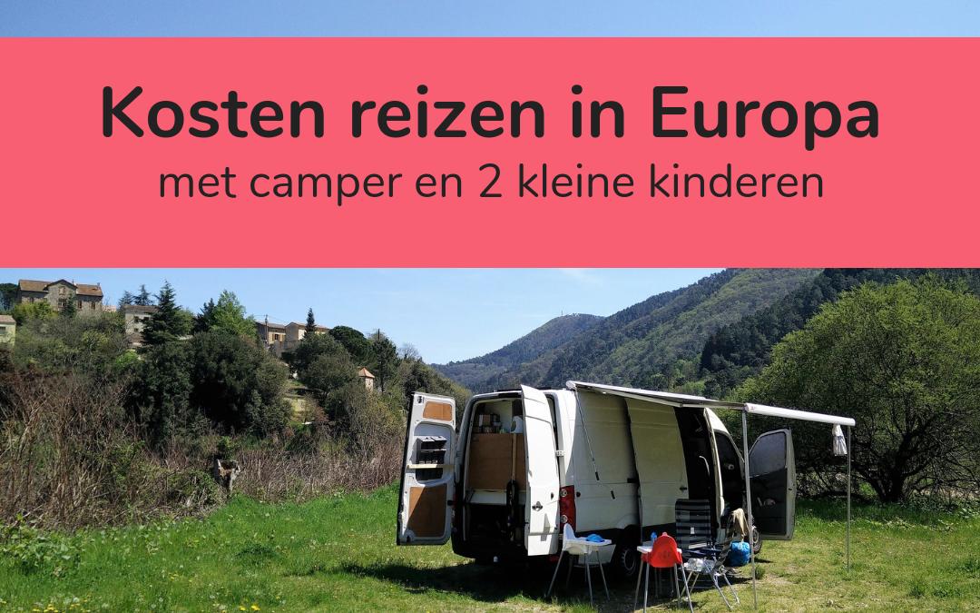 Kosten reizen Europa met camper en kinderen - featured image