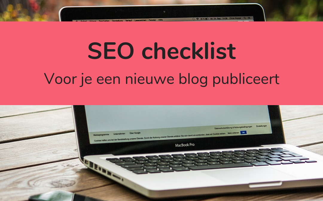 SEO checklist - featured image