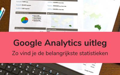 Google Analytics uitleg: je belangrijkste statistieken opzoeken