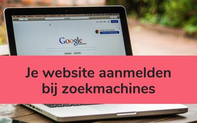 Website aanmelden bij zoekmachines