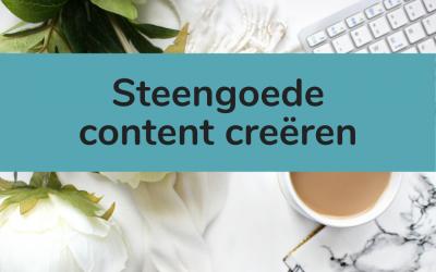 Steengoede content creëren: strategisch blogs schrijven voor langetermijnsucces
