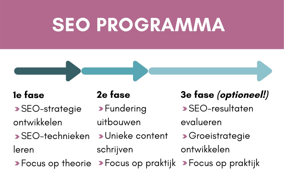 IG SEO jaarprogramma 3 fases